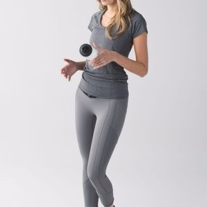 Lululemon All the Right Places Crop Slate